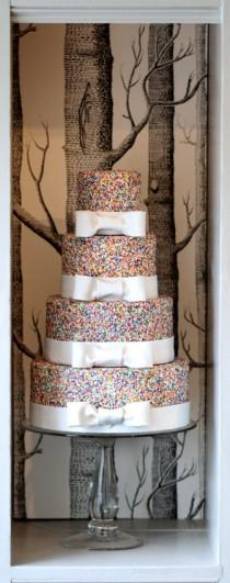 wedding photo - كعك الزفاف الخاص ♥ زينة كعكة الزفاف