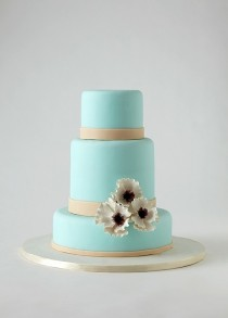 wedding photo -  Special Fondant Wedding Cakes ♥ Yummy Wedding Cake
