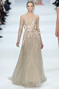 wedding photo -  Chic Elie Saab Design Dress