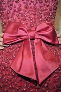 wedding photo -  Fuchsia Bow