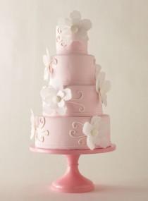 wedding photo - Fondant Hochzeitstorte ♥ Hochzeitstorte Design