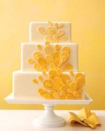 wedding photo - Fondant Wedding Cakes ♥ Moderne Hochzeitstorte Design
