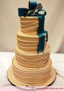 wedding photo - Fondant Wedding Cakes ♥ Hochzeits-Kuchen-Design-