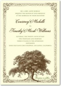 wedding photo - Rustic Wedding Invitations