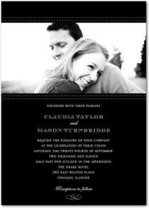 wedding photo - Photo Wedding Invitations