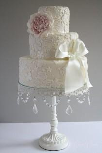 wedding photo - كعك الزفاف فندان كعكة الزفاف خمر ♥