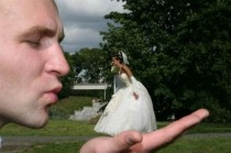 wedding photo - Fotografia di Matrimonio Hilarious ♥ Wedding Photography creativa