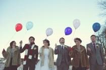 wedding photo - Photographie de mariage mignon ♥ Idée photo de mariage d'hiver