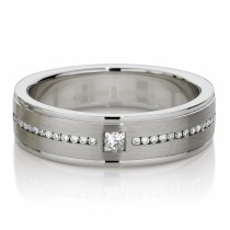 wedding photo - Luxry Diamond Men's Rings ♥ Men's Diamond Wedding Rings