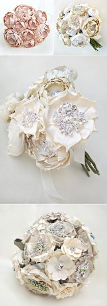 wedding photo - Silk Bridal Bouquets from Emici Bridal