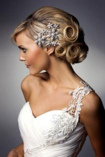 wedding photo -  Stunning Wedding Updo Hairstyle