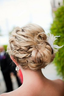 wedding photo -  Gorgeous Wedding HairStyles ♥ Wedding Updo Hairstyle