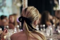 wedding photo - Natural Wedding HairStyles ♥ Wedding Ponytail Hair