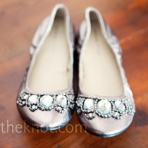 wedding photo - Brautschuhe - Satin Flats