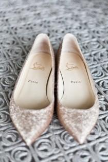 wedding photo - Scarpe da sposa - Appartamenti da sposa