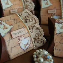 wedding photo - Invitations de mariage de cru