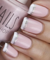 wedding photo -  Bridal Nail Designs ♥ Wedding Nail Art