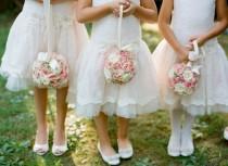 wedding photo - Flower Ball For Flower Girls