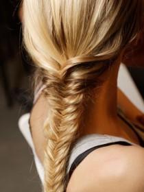 wedding photo - Fish Tail Braid Hairstyle ♥ Hair Inpspiration