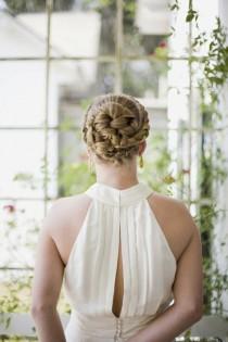 wedding photo - Hochzeit Braided Bun Frisur ♥ Haar Inpspiration