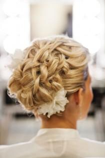 wedding photo -  Gorgeous Wedding Updo HairStyles ♥ Wedding Hair Inpspiration