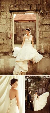 wedding photo - Chic Robe de mariage de conception spéciale