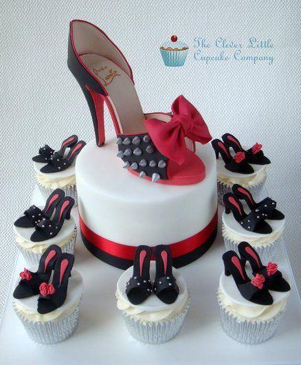 Louboutin Shoe Birthday Cakes